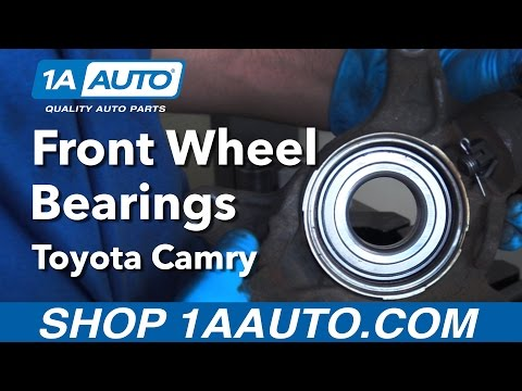 How to Replace Install Front Wheel Bearing 92-03 Toyota Camry Buy Quality Auto Parts from 1AAuto.com