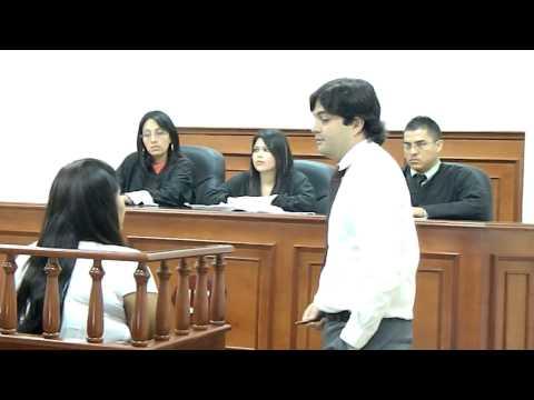 Simulación Juicio Oral y Público (CEUTEC / UNITEC)