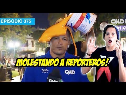 Entretenimiento-Molestando a Reporteros!