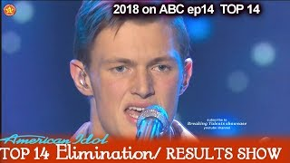 "Jonny Brenns sings ""Demons"" To Impress Judges  American Idol 2018 Top 14 Results Show"