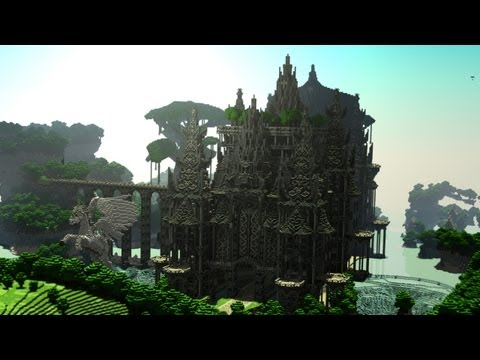 Minecraft Cinematic: Angel Falls