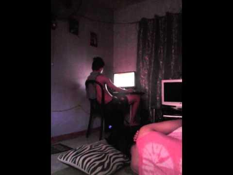 Posho Watching Youjizz video