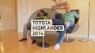 Toyota Highlander 2014 - Бoльшoй тeст-дрaйв (видеоверсия) / Big Test Drive - Тойота Хайлендер