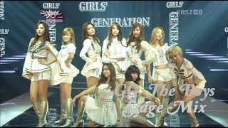 Girls' Generation 소녀시대 'The Boys' stage mix