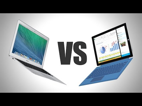 Macbook Air 2015 Vs. Surface Pro 3