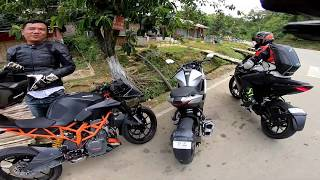 Gixxer SF 250 vs RC 390 (Battle of Brothers) Part 2
