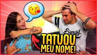 ELA TATUOU MEU NOME!! - TROLLANDO REZENDE [ REZENDE EVIL ]
