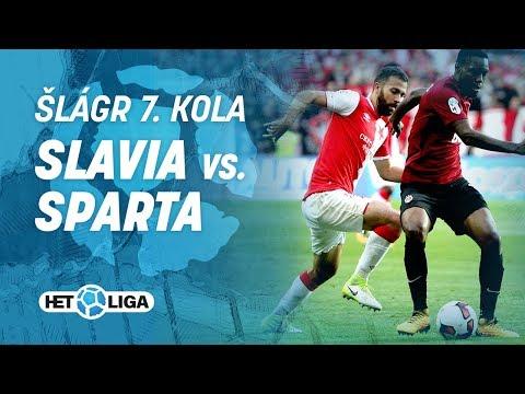 Šlágr 7. kola HET ligy: Slavia –Sparta 2:0 (17.09.2017)