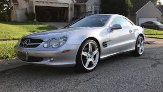 "Mercedes Benz SL500 R230 20"" AMG Wheels 2003 ABC Coilovers"