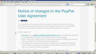How to detect a phishing scam if PayPal E-Mails you, warning you about your account