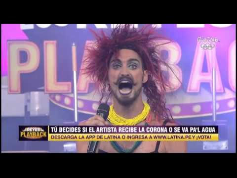 Así fue la presentación de Luciano Rosso en Los Reyes del Playback