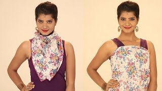 Top 10 Gorgeous Ways to Tie a Scarf – 10 Style Tips On How To Wear & Tie A Scarf For Any Season