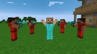 KÖTÜ ADAMLAR ZENGİNİ ESİR ALDI! 😱 - Minecraft
