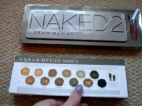 Urban Decay Naked Palette 2 - Fake/counterfeit product vs official set - eBay/Internet Scam
