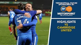 HIGHLIGHTS | Cambridge United vs The Posh