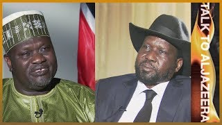 Salva Kiir and Riek Machar: South Sudan
