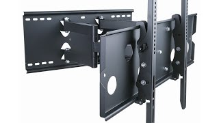 Monoprice Full-Motion TV Wall Mount Install and Review