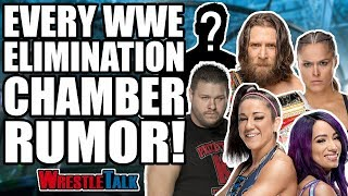 EVERY WWE Elimination Chamber 2019 Rumor You Need To Know! | WrestleTalk