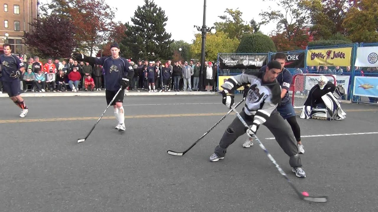how to play street hockey for beginners