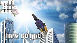 GTA 5 Stunts: How to Glide On a Bike! (How to stunt)