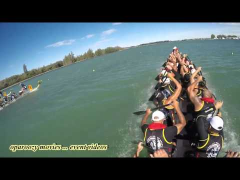 Dragon Boat racing New Zealand Nationals with HCWS