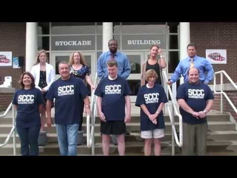 Schenectady County Community College takes the ALS Ice Bucket Challenge 8-21-14