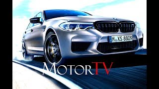 THE NEW 2019 BMW M5 COMPETITION