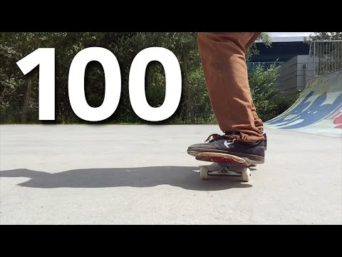 100 Insane Flatground Tricks!
