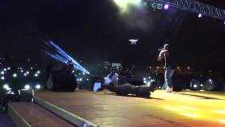 Shatta Wale and Sarkodie perform at After The Storm album launch