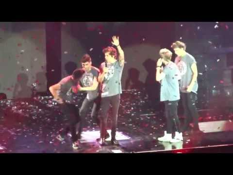 What Makes You Beautiful + Talking - One Direction Hamburg 12 5 13 video