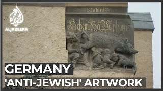 Controversy over Germany 'anti-Jewish' artwork