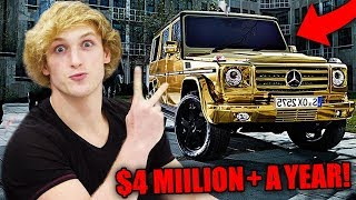 Top 10 RICHEST Youtubers Of 2017! (Logan Paul, DanTDM, Jake Paul & More)