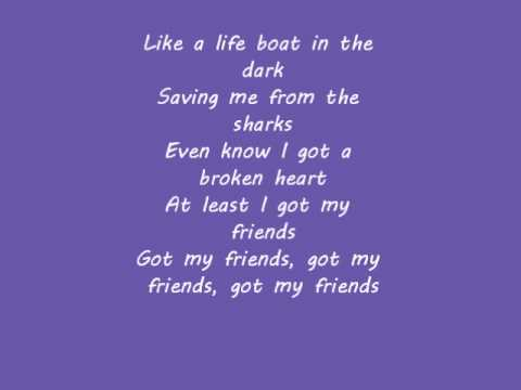 Friends lyrics
