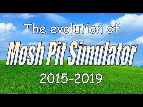 Mosh Pit Simulator выглядит как блестящий, странный VR-кошмар