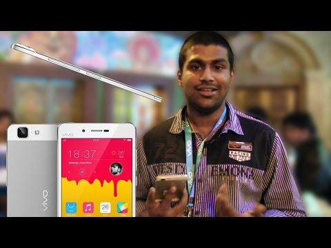 Vivo X5Max - The World's Slimmest Smartphone - My Launch Experience & Hands On