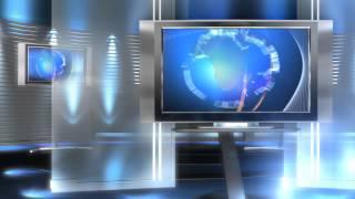 free virtual newsroom set background video in hd HD