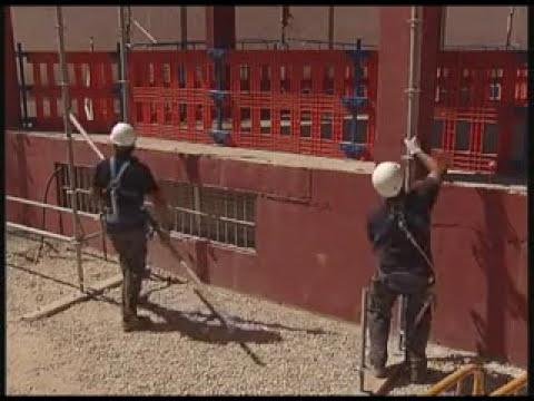 Desmontaje andamios colgados