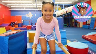 Gymnastics with Cali | Cali's Playhouse