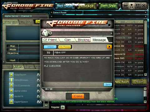 crossfire how to hack