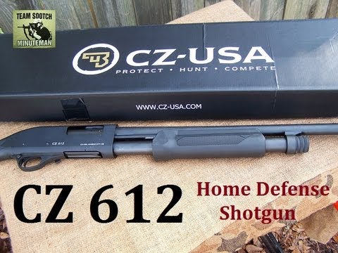 CZ 612 Home Defense Pump Shotgun
