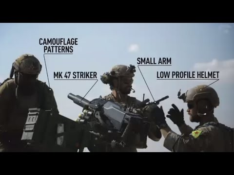 US fighters caught on cam on ISIS frontline in Syria