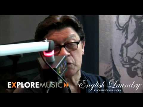 30 Minutes with Robbie Robertson at ExploreMusic ! pt 1
