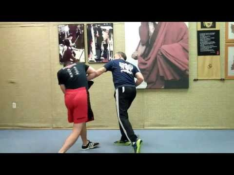 Street Boxing Drills - Demo and explanation by Rick Tucci - Tough training!! Image 1