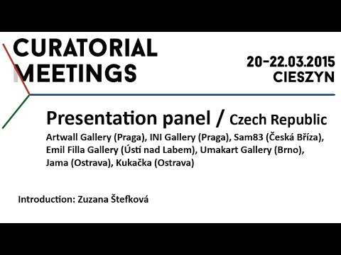 Curatorial Meetings / Introduction – Zuzana Stefkova 09 // CZ