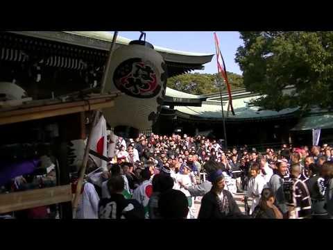 平成25年 建国記念日奉祝パレード 神輿渡御