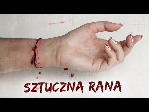 SZTUCZNA RANA tutorial na Halloween★ Red Lipstick Monster ★