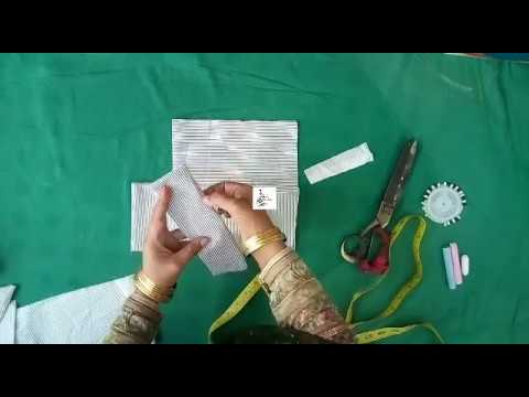 how to make short frock random cloth in use baby shot frock cutting & stitching full tutorial
