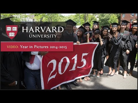 Harvard University: Year in Pictures 2014-2015