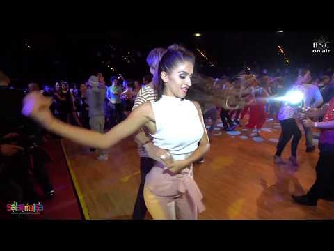 Büşra & Jonatha 2 angles Social Salsa Video (BERLIN SALSA CONGRESS 2018)