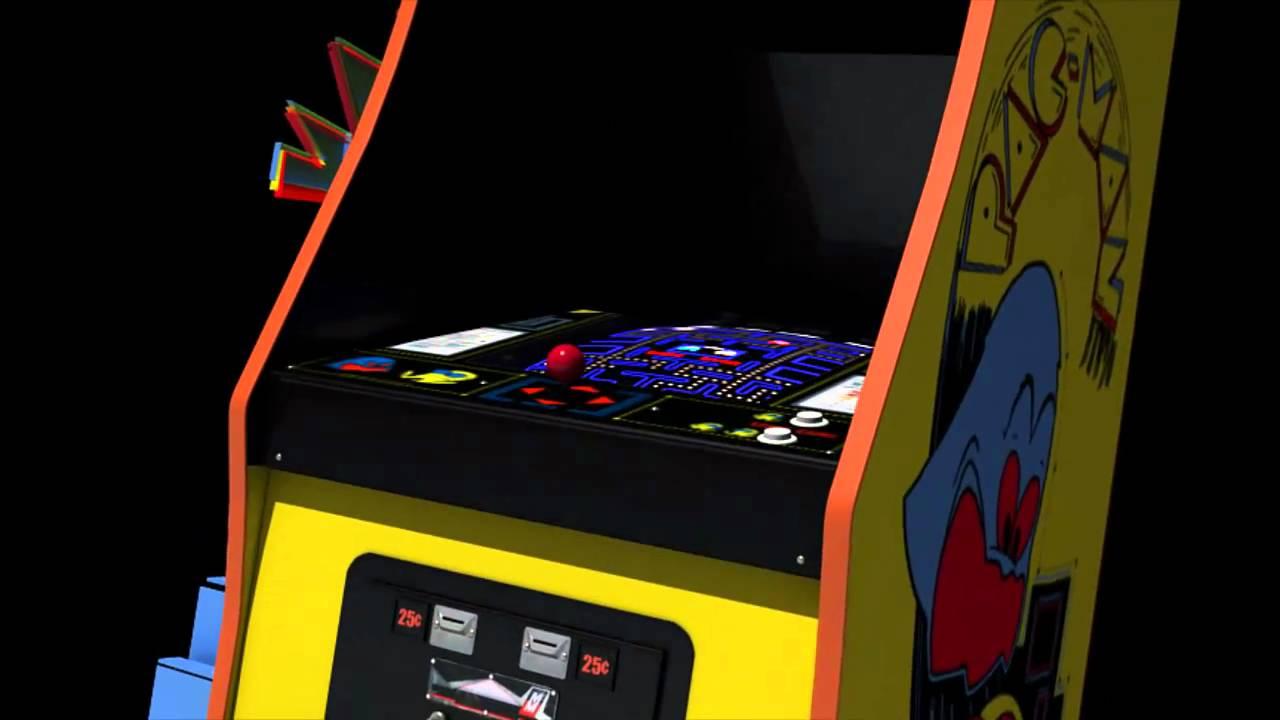 pac-man arcade 3d